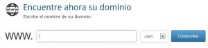 Buscar dominio y diseño web gratis en Barranquilla