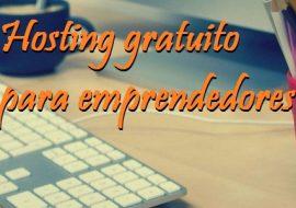 Hosting gratuito para emprendedores